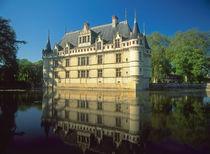 Chateau of Azay-le-Rideau, Indre-et-Loire, Loire Valley, France von Danita Delimont