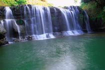 Beautiful Waterfall in Guam a USA Territory by Danita Delimont
