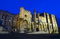 The Pope's Palace in Avignon at sunset von Danita Delimont