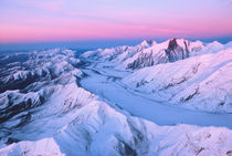 Alaska Range with Alpen Glow,  Denali National Park, Alaska, USA by Danita Delimont