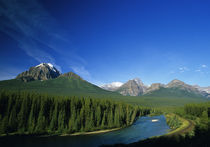 Bow River near Banff National Park in Alberta Canada von Danita Delimont