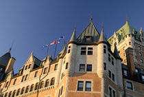 Canada, Quebec, Quebec City. Fairmont Chateau Frontenac. IMAGE RESTRICTED by Danita Delimont