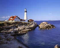 USA, Maine, Portland Head Light by Danita Delimont