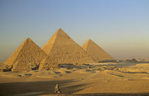 Egypt, Old Kingdom, Giza pyramid by Danita Delimont