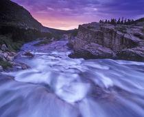 Swiftcurrent Falls in Glacier National Park in Montana von Danita Delimont