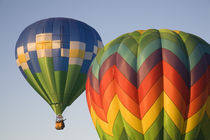 WA, Prosser, The Great Prosser Balloon Rally, Hot air balloons in flight by Danita Delimont