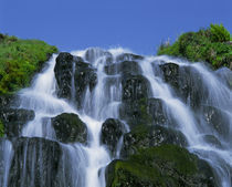 Waterfall, Portree, Isle of Skye, Highlands, Scotland von Danita Delimont