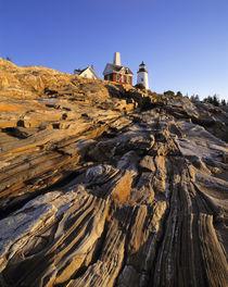 USA, Maine, Penaquid Light by Danita Delimont