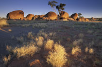 Australia, Northern Territory  Devils Marbles at sunset  Note von Danita Delimont