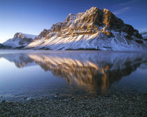 'Canada, Alberta, Banff NP, Bow Laka at sunrise' by Danita Delimont