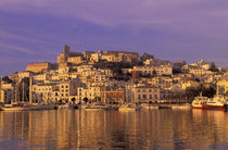 Europe, Spain, Balearics, Ibiza, Ibiza City by Danita Delimont
