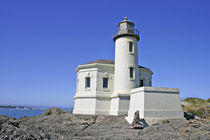 Coquille River Lighthouse in Bullards Beach State Park near Bandon Oregon by Danita Delimont