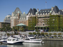 Victoria, Canada. The inner harbour in the hsitoric city of Victoria by Danita Delimont