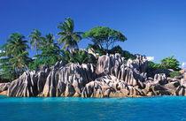 Seychelles. Ilot St. Pierre (near Praslin Island). von Danita Delimont
