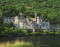 Europe, Ireland, County Galway, Connemara. View of the Kylemore Abbey by Danita Delimont