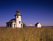 WA, Maury Island, Point Robinson Lighthouse von Danita Delimont