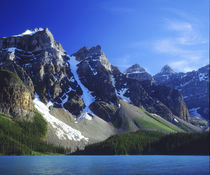 Canada, Alberta, Banff National Park, Moraine Lake. by Danita Delimont
