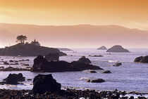Sunrise at Crescent City, California. von Danita Delimont