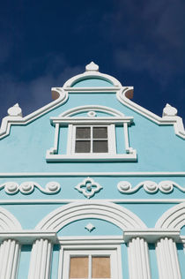 ABC Islands - ARUBA - Oranjestad: Downtown Dutch Architecture Detail by Danita Delimont