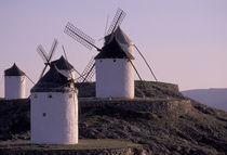 Europe, Spain, Consuegra Windmills by Danita Delimont