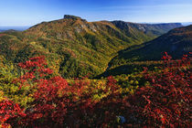 Autumn view of Linville Gorge, Pisgah National Forest, North Carolina by Danita Delimont