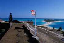 USA, FL, Florida Keys, Fort Jefferson, 1846, stands on Garden Key, Dry Tortugas. by Danita Delimont