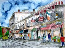 Savannah River Street by Derek McCrea