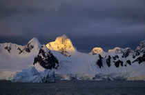 Midnight in Antarctic Peninsula by Wolfgang Kaehler