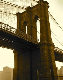 "New York City , USA ""Brooklyn bridge"" von ushkaphotography"