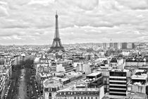 The Eiffel Tower from the Arc de Triomphe by Joel Morin