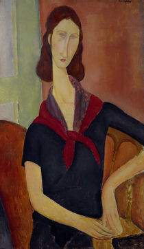A.Modigliani, Jeanne Hebuterne by AKG  Images