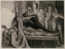 J.H.Fuessli, Kriemhild klagt a.d.Leiche.. by AKG  Images