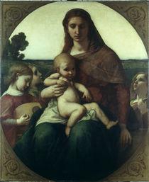 Anselm Feuerbach, Maria mit dem Kinde by AKG  Images