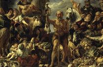 Diogenes mit Laterne / Jordaens von AKG  Images