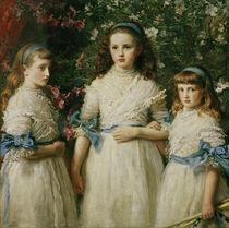 J.E.Millais, Sisters von AKG  Images