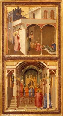 A.Lorenzetti, 2 Szenen mit Hl.Nikolaus by AKG  Images