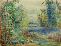 A.Renoir, Flusslandschaft von AKG  Images