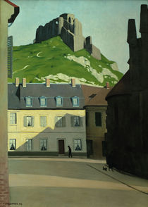 F.Vallotton, Platz in Les Andelys von AKG  Images