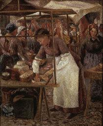 C.Pissarro, Die Fleischerin by AKG  Images