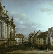 Dresden, Frauenkirche / Gem.v.Bellotto von AKG  Images