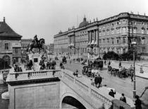 Berlin, Kurfuerstenbr.& Stadtschloss 1898 by AKG  Images