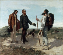Gustave Courbet, Die Begegnung/ 1854 by AKG  Images