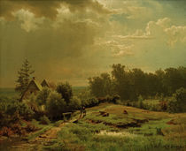 A.Achenbach, huegelige Landschaft...,1852 von AKG  Images