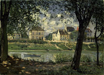 Sisley/ Villeneuve-la-Garenne/ 1872 von AKG  Images