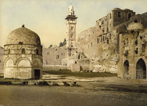Jerusalem, Burg Antonia / Photochrom by AKG  Images