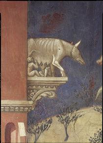 A.Lorenzetti, Aschius und Senius by AKG  Images