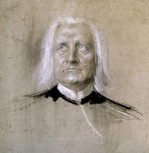 Franz Liszt / Lenbach von AKG  Images