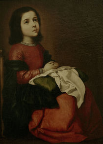 F.de Zurbaran, Jugend der Mutter Gottes by AKG  Images
