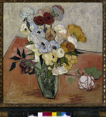 Van Gogh /Stilleben mit japan. Vase/1890 by AKG  Images