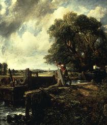 J.Constable, Die Schleuse von AKG  Images